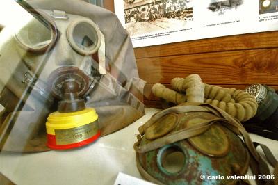 museo minerario, maschere antigas