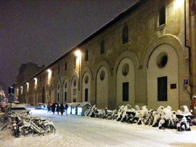 neve: via della colonna