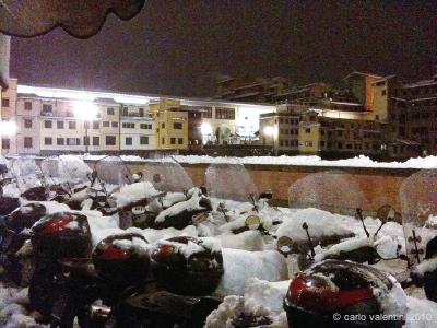 neve: ponte vecchio
