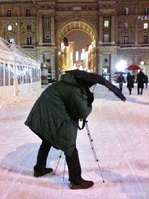 neve: piazza della repubblica