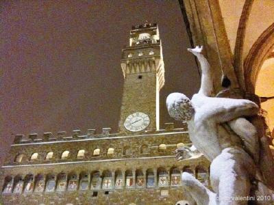 neve: piazza signoria