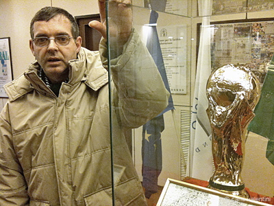 roberto, museo del calcio, firenze 2010