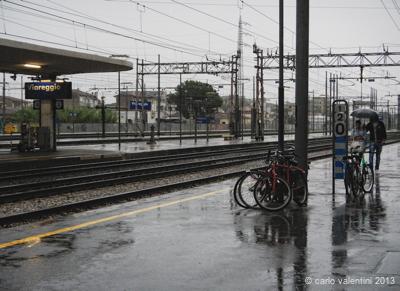 viareggio: piove!